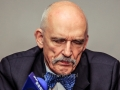 Janusz Korwin-Mikke, Polish Presidential candidate, election meeting in Tarnow (Poland)